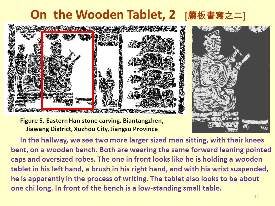 On the Wooden Tablet, 2 [牘板書寫之二]